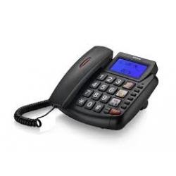 Brondi RAINBOW Telefono con Filo - Nero Blu