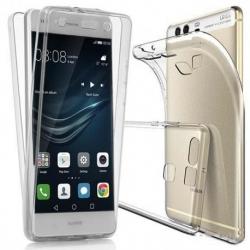 Cover in silicone trasparente fronte retro - Huawei P SMART