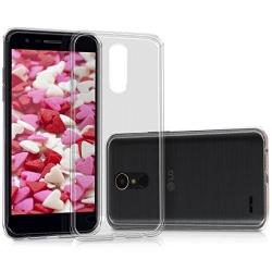 Cover in silicone trasparente - Lg K10 2018 - K11