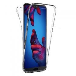 Cover fronte retro silicone trasparente - A8 2018