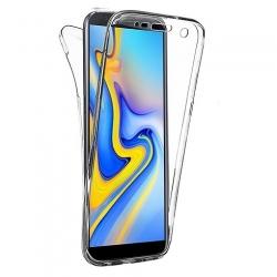 Cover fronte retro silicone trasparente - P-smart plus