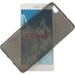 Cover in silicone trasparente grigio - Huawei P8 LITE