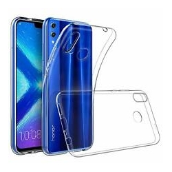 Cover in silicone trasparente - Huawei HONOR 8A