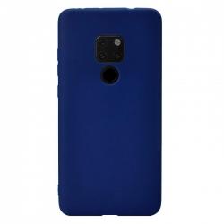 Cover in silicone soft blu - HUAWEI MATE 20