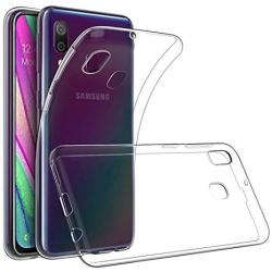 Cover in silicone trasparente - Samsung A40