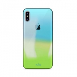 Cover in silicone IPhone X, XS - Hologram
