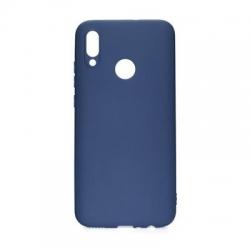 Cover silicone blu opaco - Huawei P SMART 2019