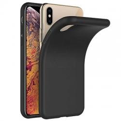 Cover in silicone nera opaca - IPHONE XR