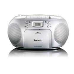 Radio con lettore CD , CASSETTE e RADIO  - LENCO SCD 420
