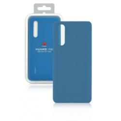 Cover in silicone blu - Huawei P30