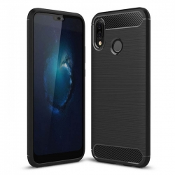 cover in silicone nero - Xiaomi Note 8
