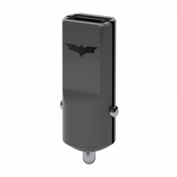 Caricabatterie Auto 2,4A Rapid Charge - Tribe Batman