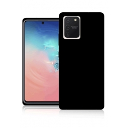 Cover in silicone nera - S10 Lite 2020 (g977)