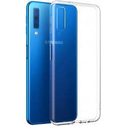 COVER silicone trasparente - SAMSUNG A7 2018