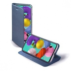 Custodia chiusa blu - Samsung A51