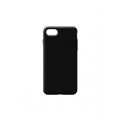 COVER SILICONE SOFT NERA - IPHONE 7, 8, SE 2020