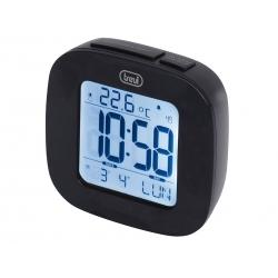 Orologio digitale con sveglia, bianco - Trevi