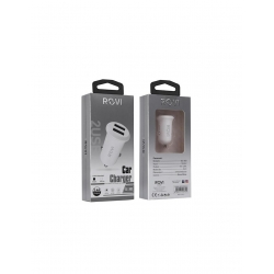 ALIMENTATORE AUTO 2.4A  12W  Fast Charger