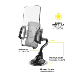 Supporto cellulare per Auto a ventosa - Fonex Tube