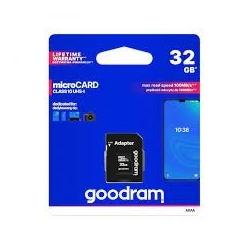 MICRO SDHC 32 GB classe 10 - Goodram