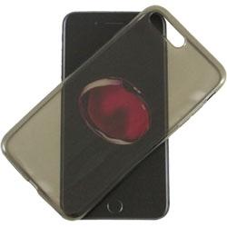 CUSTODIA IN SILICONE PER IPHONE 7 PLUS - IPHONE 8 PLUS COL. BLACK