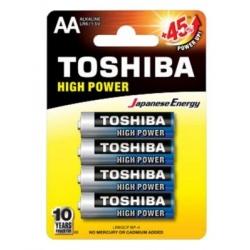 BATTERIE STILO ALKALINE AA - TOSHIBA High Power