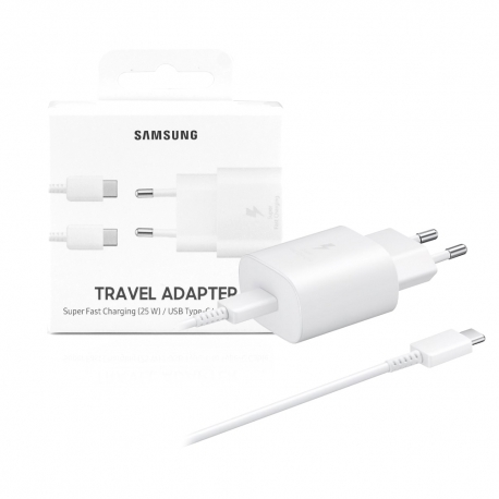 Carica-batterie ultra rapido type-c  25W  3A - Samsung EP-TA800
