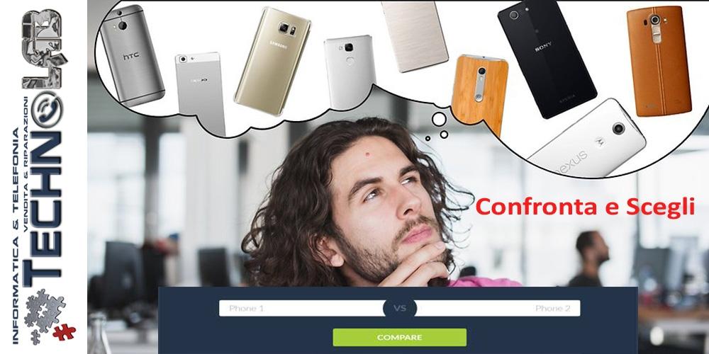 Compara e scegli il telefono da acquistare